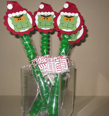 The Best Grinch Crafts and Treats Grinch cello treat bags and toppers