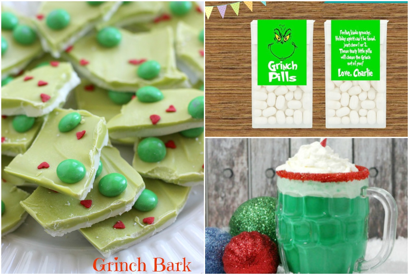 Grinch Crafts and Treats