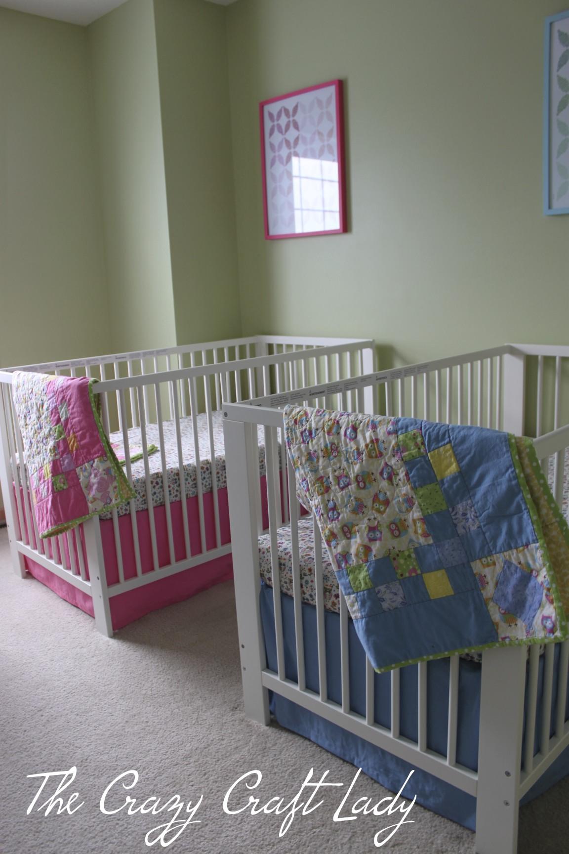 diy ikea crib bedding