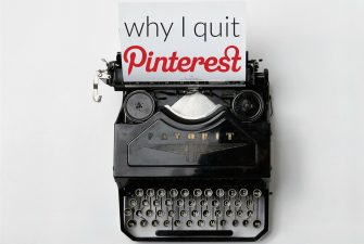 Buh-Bye Pinterest
