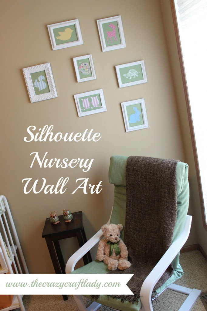 silhouette nursery art