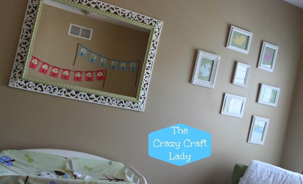 Baby Name Banner - The Crazy Craft Lady