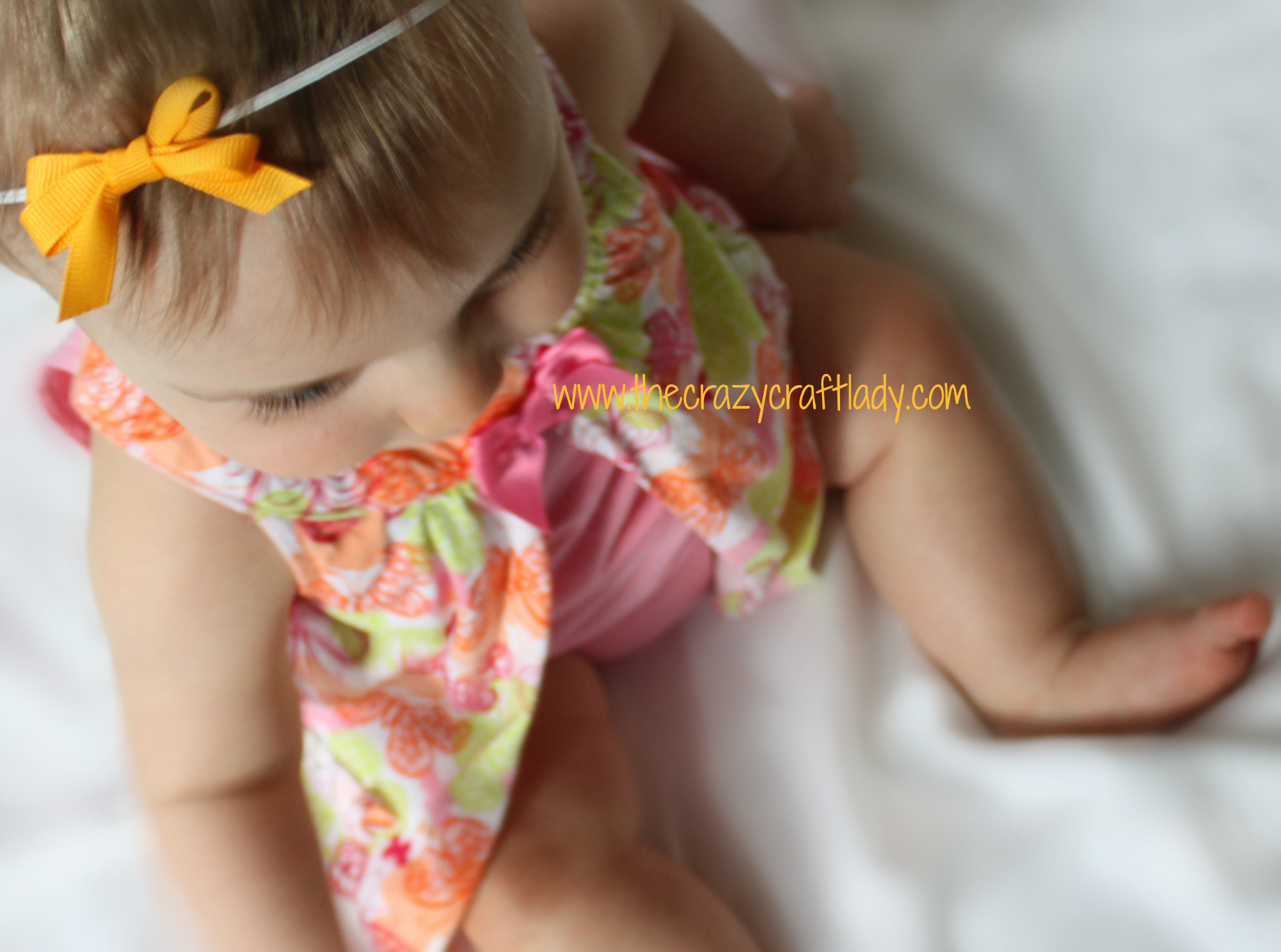 Easy and Bow Headbands: How to make Simple Baby Headbands