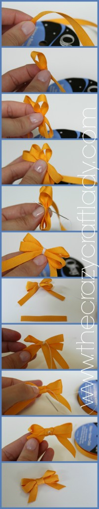 bow how-to - The Crazy Craft Lady