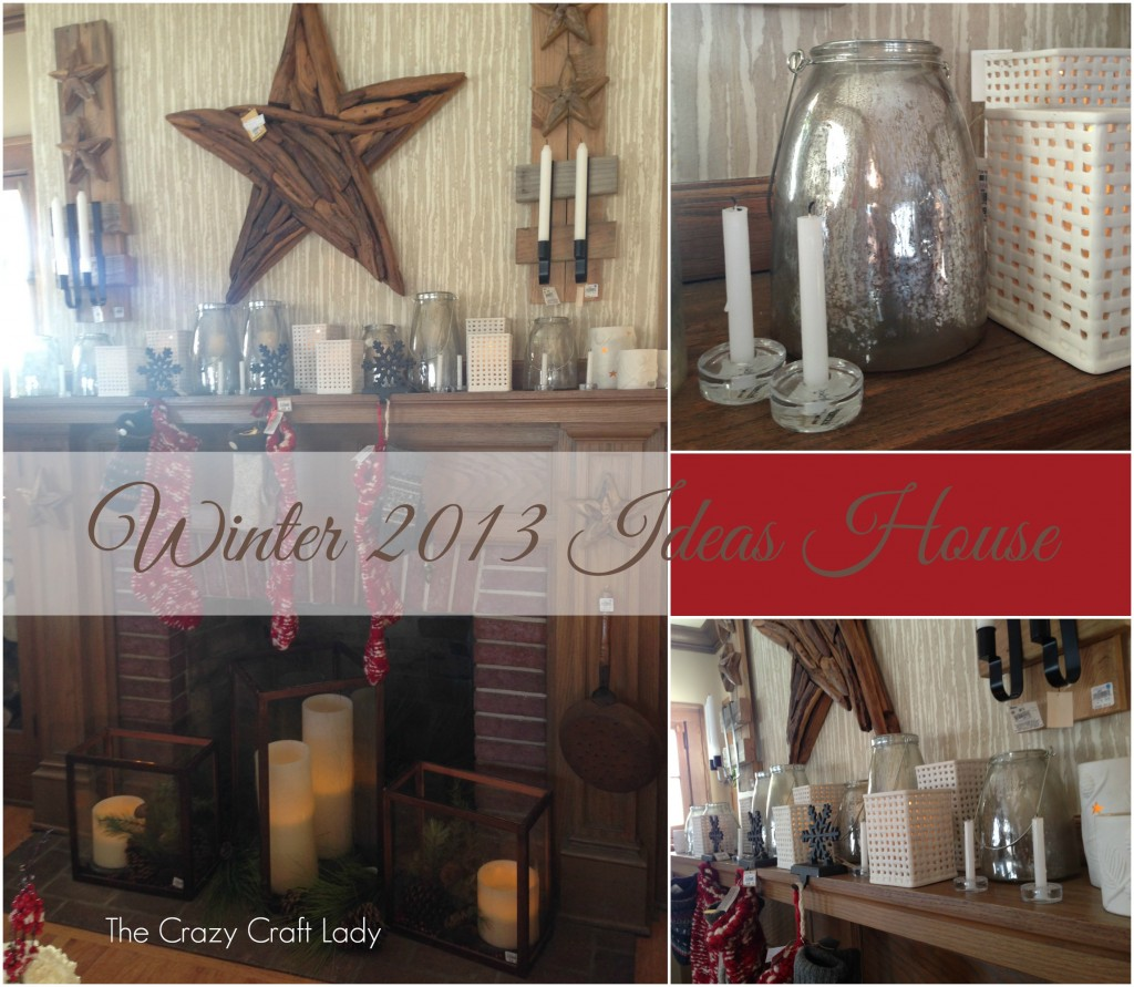 2013 Winter Ideas House - thecrazycraftlady.com