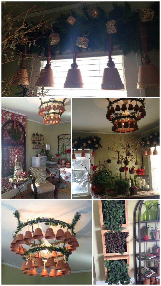 Garden Room - Bachman's WInter 2013 Ideas House - thecrazycraftlady.com
