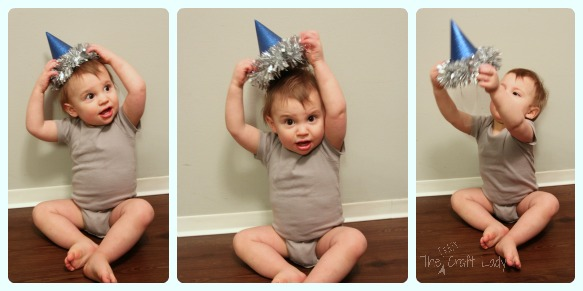 Baby Party Hat Collage
