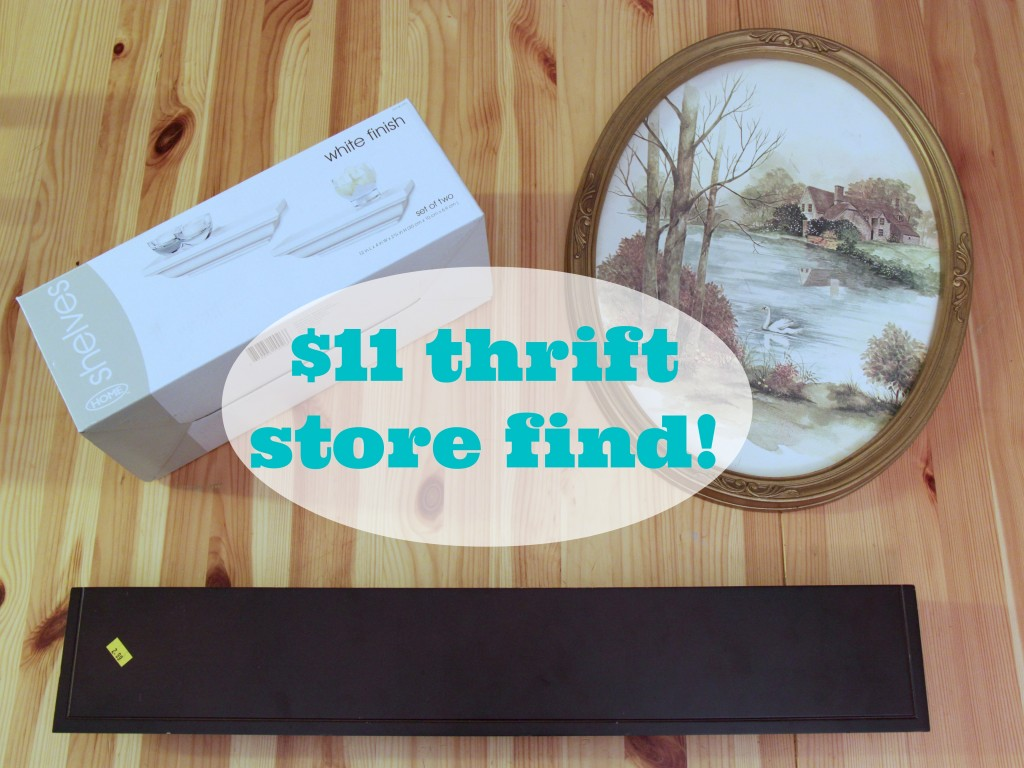 Thrift Store Shelves Update & Kid's Craft Corner