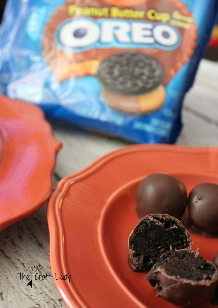 Reese's Peanut Butter Cup Oreo Treats
