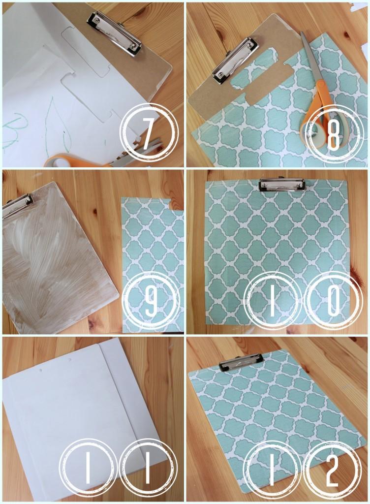 Dollar Store Clipboard Craft