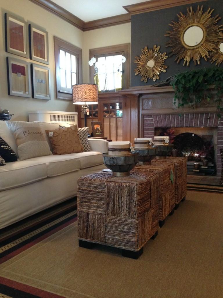 Fall Ideas House 2014 - Living Room