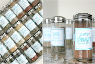 DIY Spice Jar Labels (using Picmonkey)