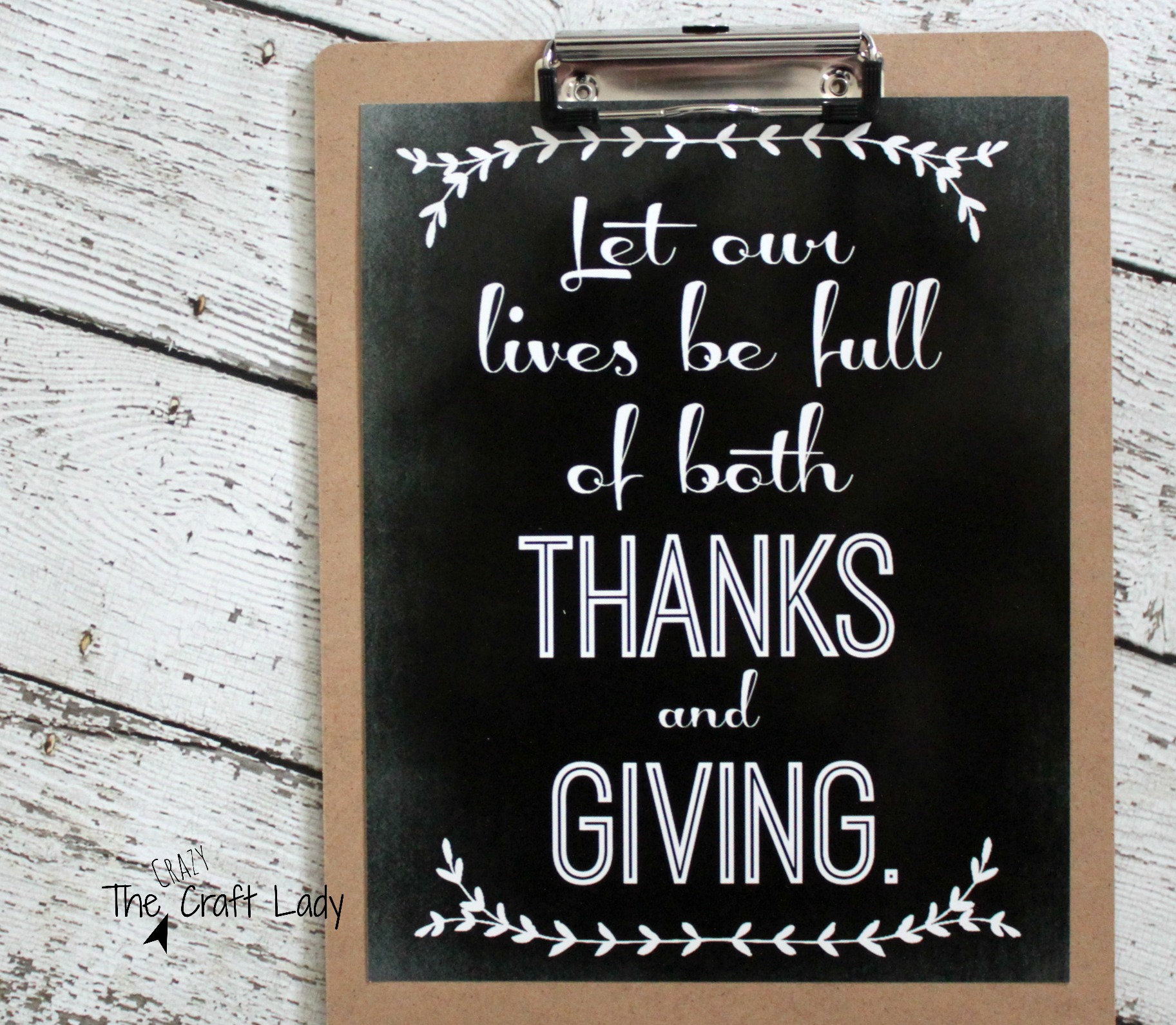 two thanksgiving chalkboard printables the crazy craft lady
