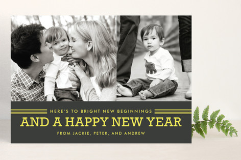 New Year Photo Cards + Minted