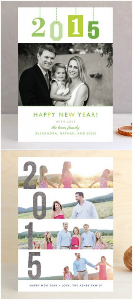 New YearsPhoto Postcards