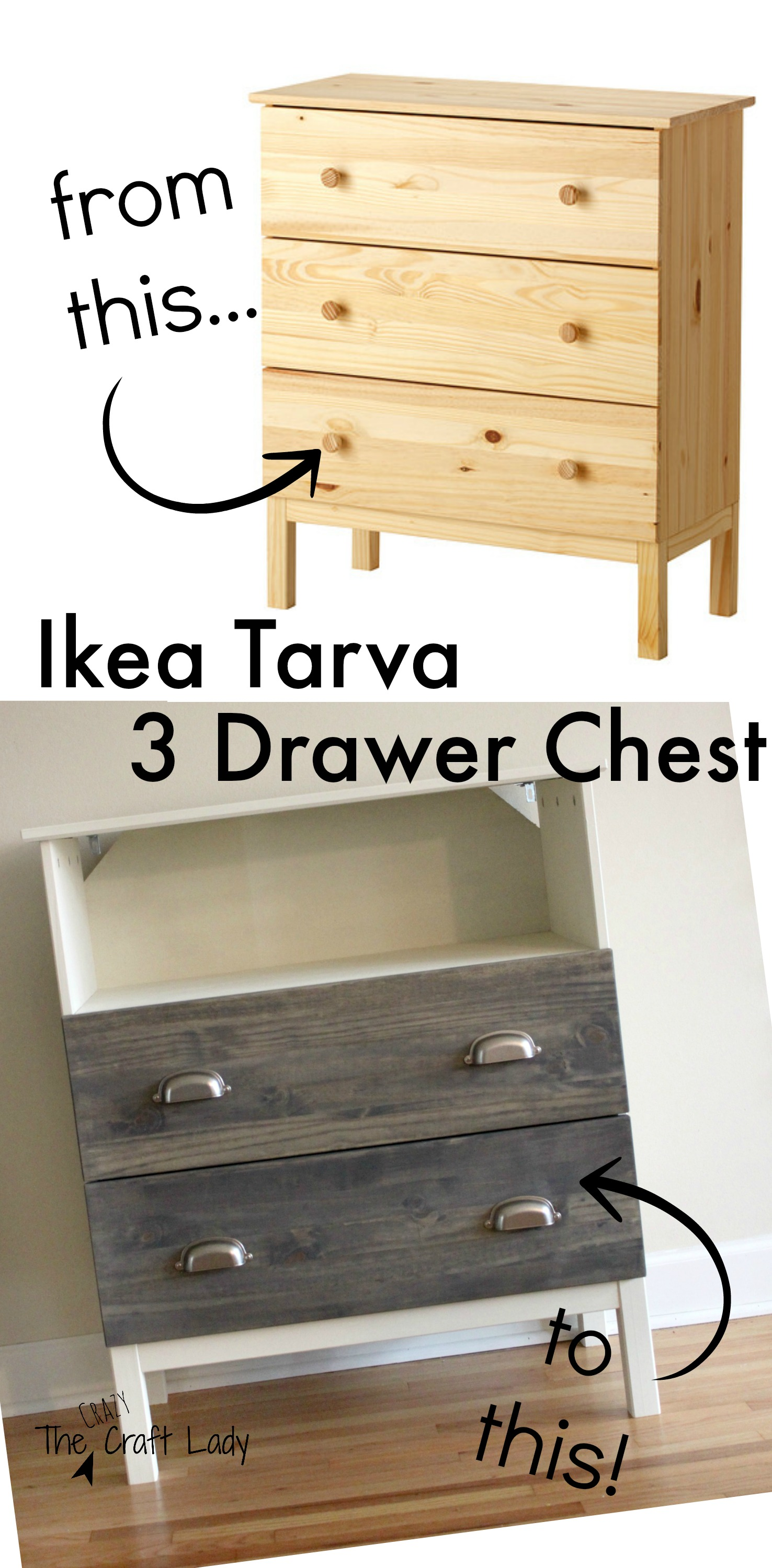 tarva dresser ikea. Ikea Tarva Hack From The Crazy Craft Lady. Full Tutorial For Making A Custom TV Dresser