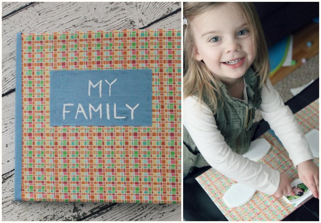 Family Flip-Top Board Book DIY