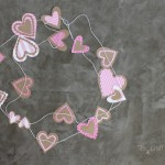 DIY Simple Valentine Garland Paper Craft