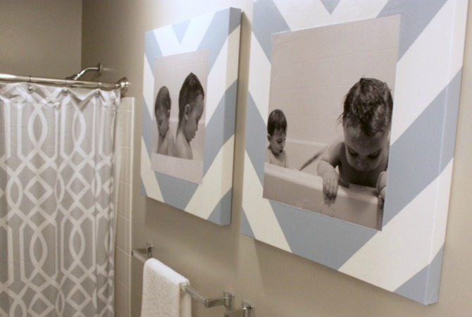 Tub Time Photos & DIY Canvas Prints