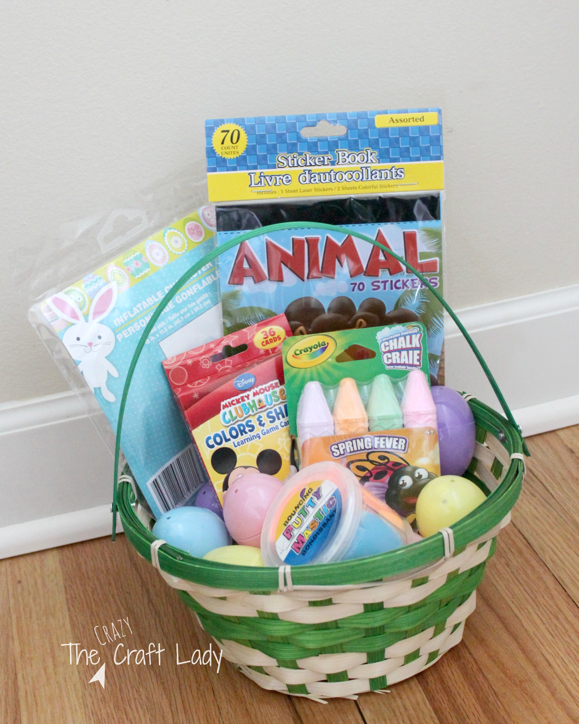 Toddler Approved Dollar Store Easter Basket Ideas The