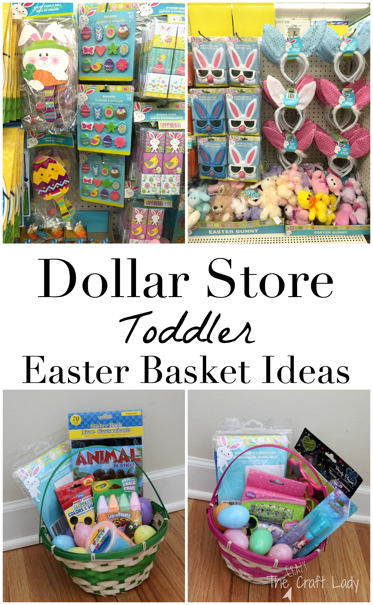 Toddler approved dollar store easter basket ideas the crazy craft lady toddler approved dollar store easter basket ideas negle