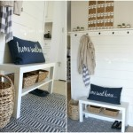 Planked Wall Entry Reveal