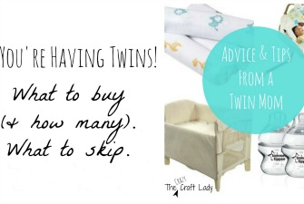 My Picks for Newborn Twin Essentials, Part 1