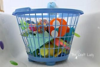 $1 Tub Toy Storage Solution