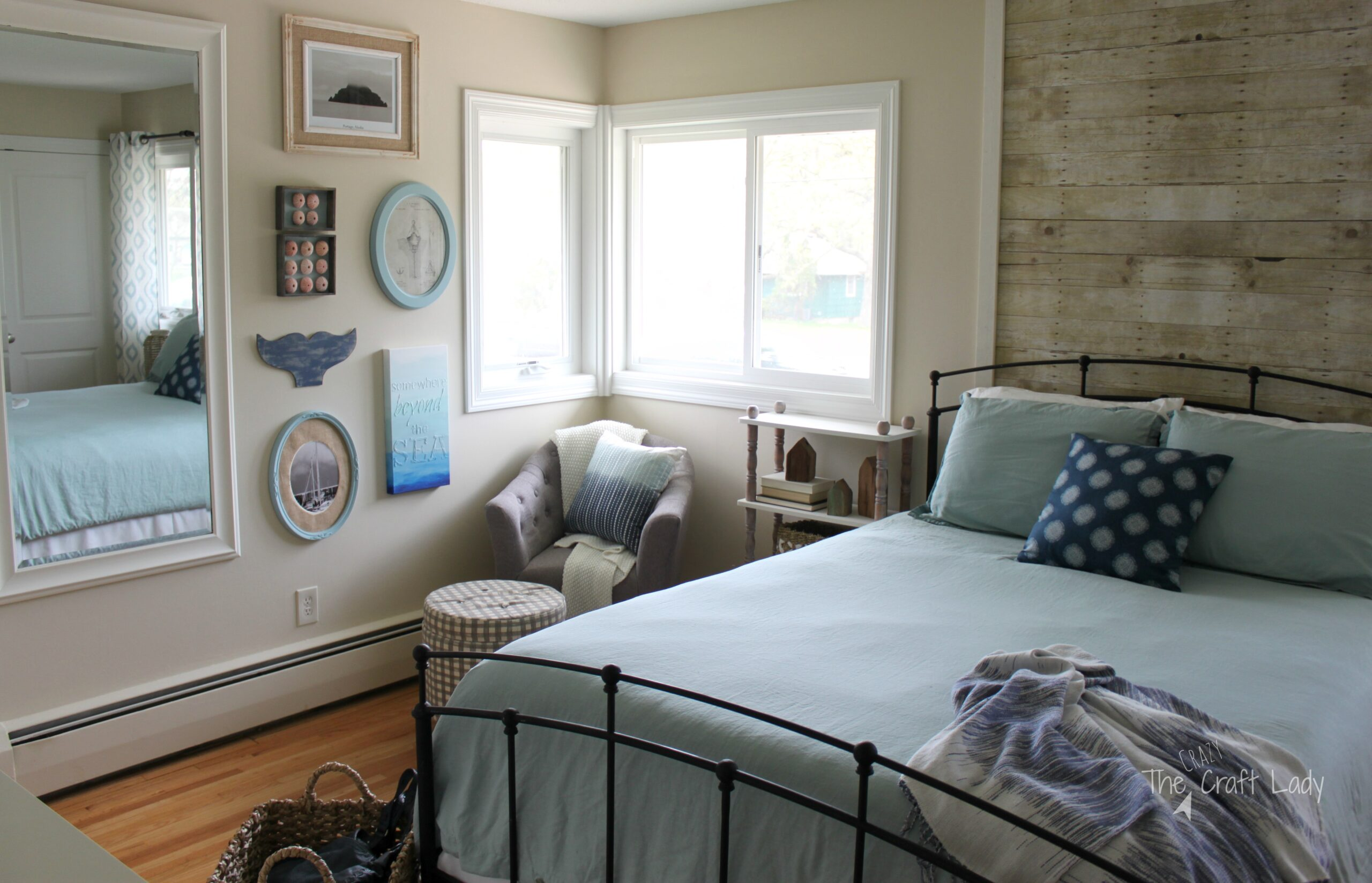 master bedroom reveal one room challenge week 6 the crazy craft lady. Black Bedroom Furniture Sets. Home Design Ideas
