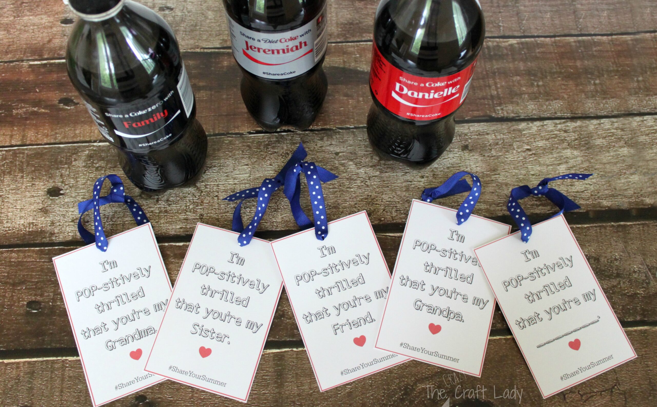 picture relating to Customizable Gift Tags Printable named Percentage Your Summertime with Coca-Cola: Tailored Reward Tags and