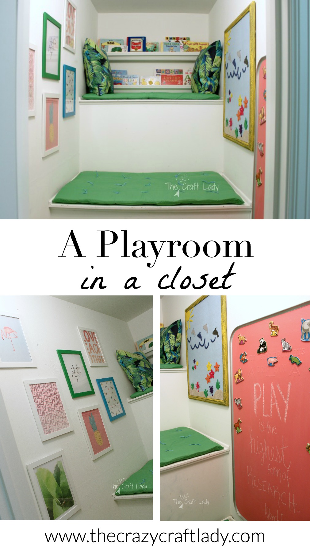 A Playroom in a Closet