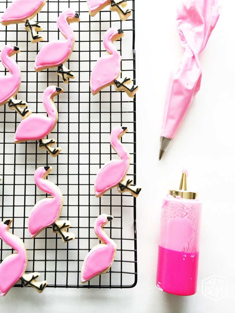 flamingo sugar cookies from Mom's Best