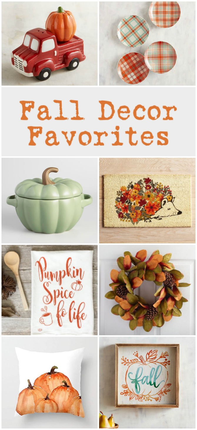 As leaves change color, bring those colors into your home this season. Shop my picks for affordable fall decor and accents - without breaking the bank.