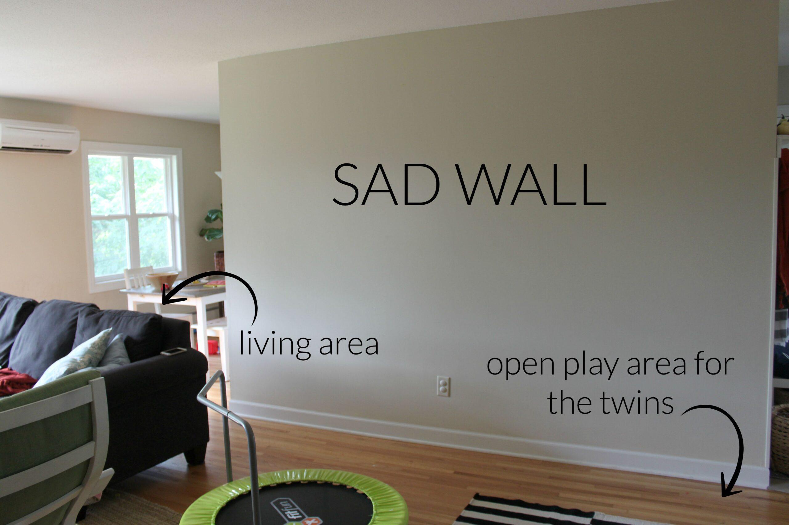 Blank Living Room Wall - Nakicphotography