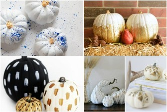 Friday Favorites: Gilded Pumpkins