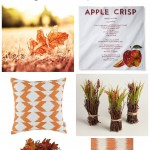 Affordable Fall Decor - Bring fall color and nature into your home.