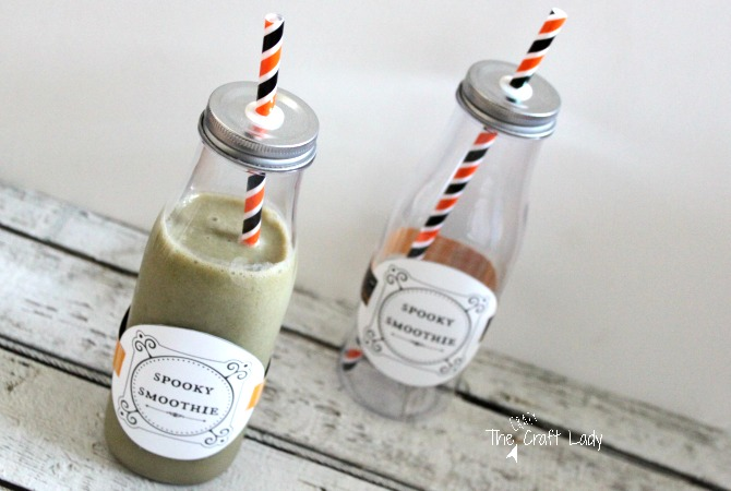 Spooky Smoothies + A Free Printable