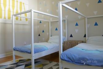 A Coastal Cool Twin Bedroom: The Big Reveal