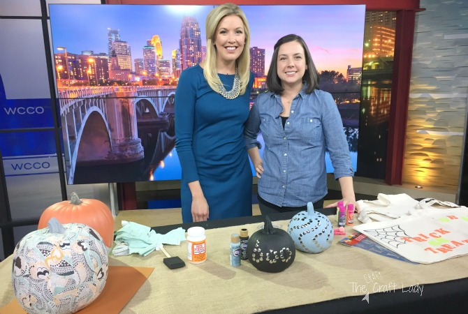 Halloween Craft Ideas + My TV Debut