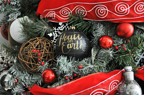 DIY Pottery Barn Globe Ornaments