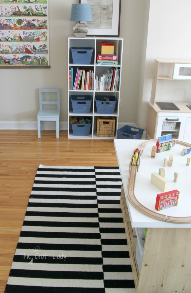 An ikea hack train activity table the crazy craft lady - Customiser table ikea ...