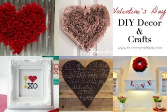 Friday Favorites: Valentine's Day DIY Decor & Crafts