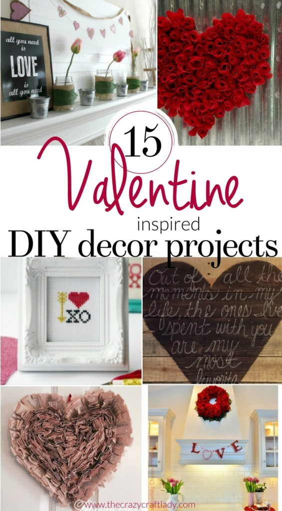 's Day DIY Decor and Crafts - Creative Valentine DIYs