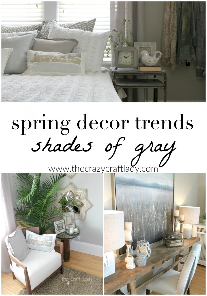 Get your home ready for Spring with these Spring Home Decor Trends and tons of DIY inspiration!