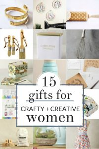 Mother's Day Gift Guide for Crafty Moms - If your mom is a Crafty Mom, look no further. These are my favorite gifts for women. I've selected some perfect gift ideas for the crafty ladies - whether she's a Pinterest addict, crafter, baker, sewer, gardener, or anything else, I've got you covered!