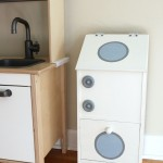 A Thrift Store Play Washing Machine - $7 makeover.
