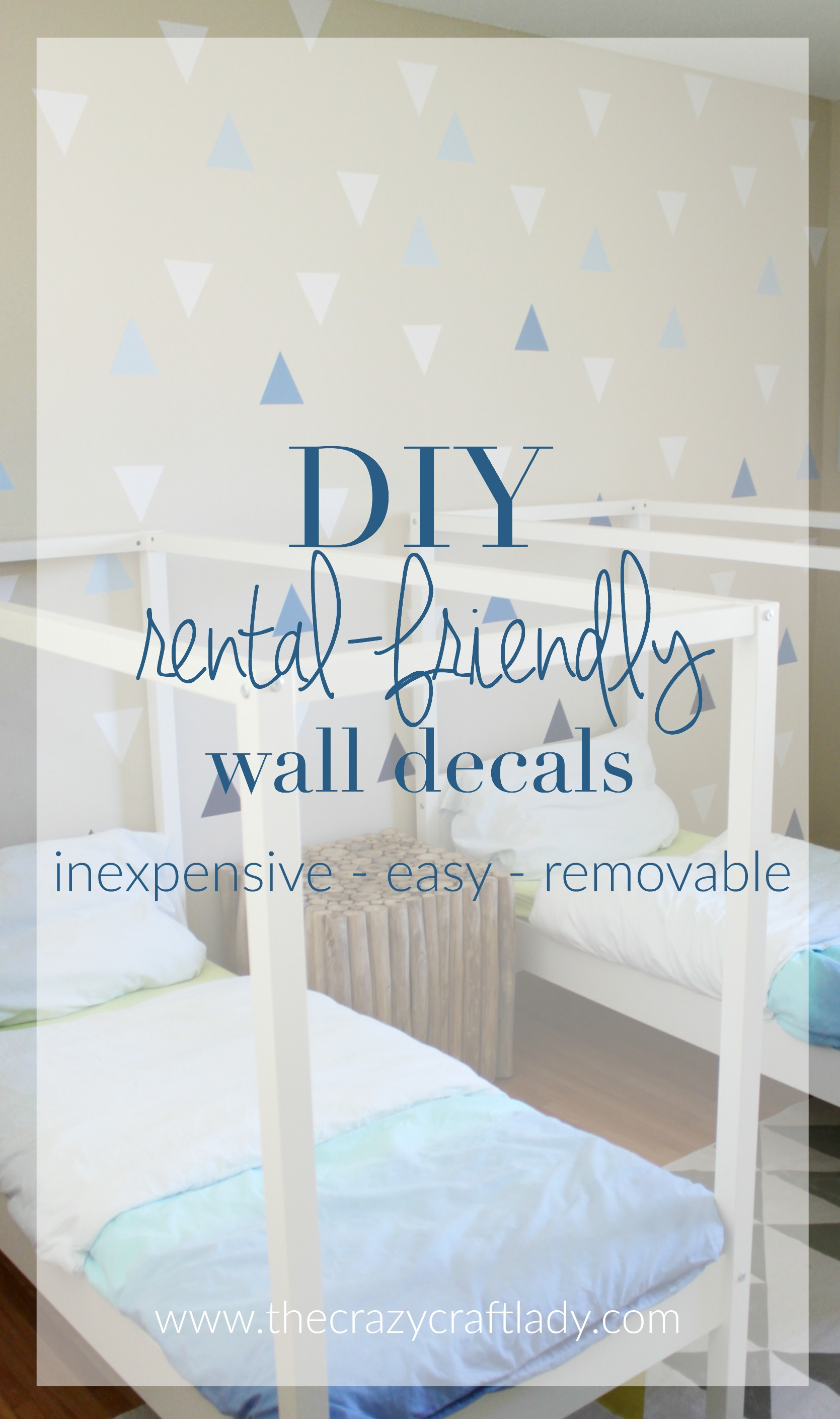 DIY Wall Decals RentalFriendly Decor A Feature Wall The - Wall decals 2016