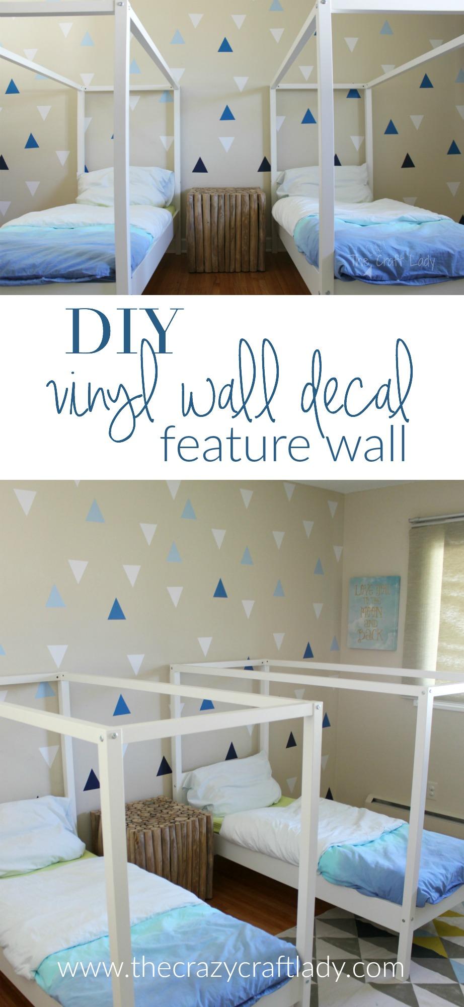 diy rental diy wall decals rental friendly decor a feature wall the craft