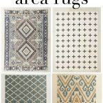 Affordable Area Rugs + 3 Simple Tips for Using Area Rugs in Rental Decor