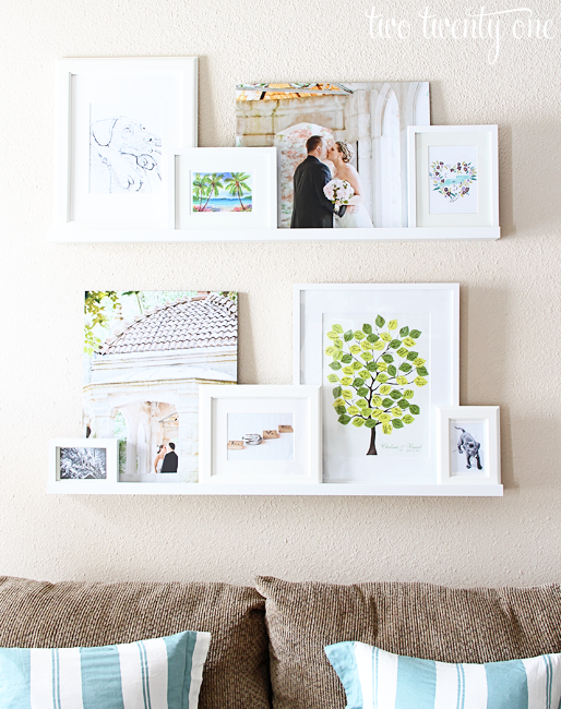 Three Solutions for Rental-Friendly Gallery Walls. Do you love gallery walls, but are afraid of leaving damaging your walls? Check out these three proven solutions to minimize wall damage and create beautiful gallery walls for your home.